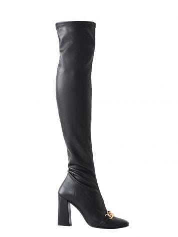 Over-the-knee chain boots Over-the-knee chain boots Rinascimento