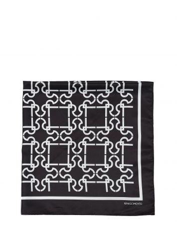 RR monogram scarf RR monogram scarf Rinascimento