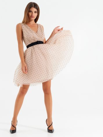 Polka dot tulle dress Polka dot tulle dress Rinascimento