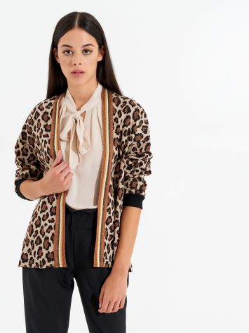 Animal-print jacket Animal-print jacket Rinascimento