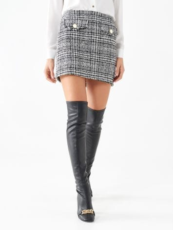 Tweed mini-skirt Tweed mini-skirt Rinascimento