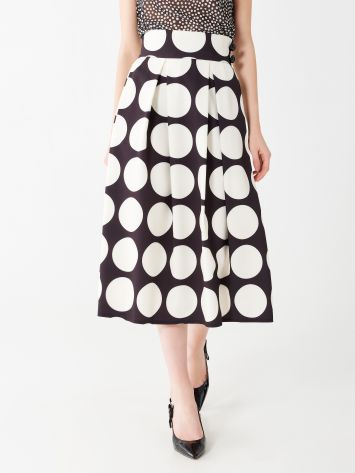 Printed midi skirt Printed midi skirt Rinascimento