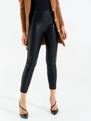 Faux leather leggings Faux leather leggings Rinascimento
