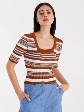 Striped top, '90s style Striped top, '90s style Rinascimento