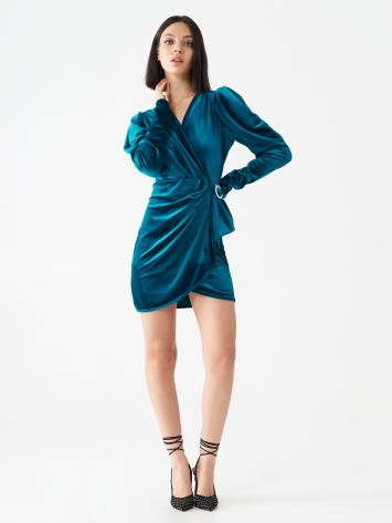 Velour mini dress Velour mini dress Rinascimento