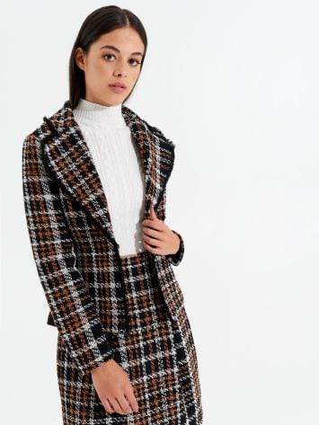 Tweed Jacket Tweed Jacket Rinascimento