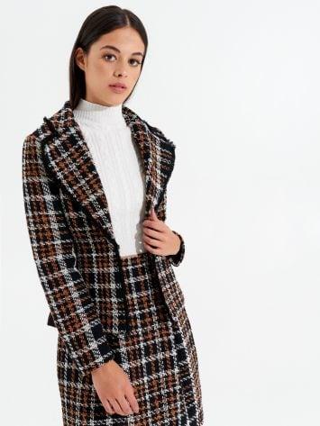 Veste en tweed Veste en tweed Rinascimento