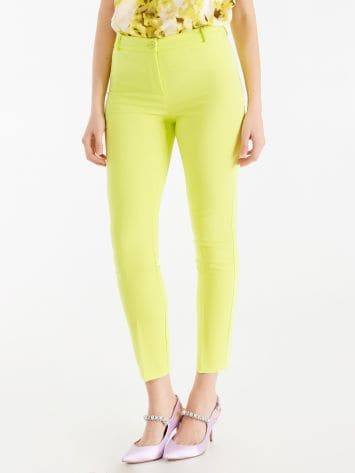 Coloured skinny trousers Coloured skinny trousers Rinascimento
