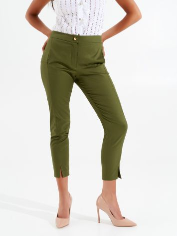 Tight-fit cropped trousers Tight-fit cropped trousers Rinascimento