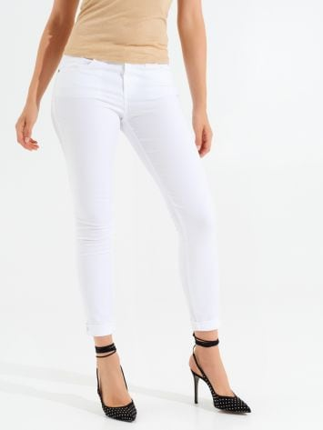 Skinny Cotton Trousers Skinny Cotton Trousers Rinascimento