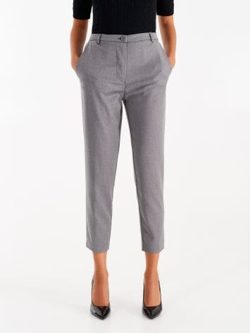 Trousers in masculine fabric Trousers in masculine fabric Rinascimento
