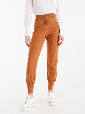 Pantaloni Joggers in Maglia Pantaloni Joggers in Maglia Rinascimento