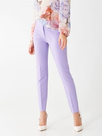 Crêpe stretch trousers Crêpe stretch trousers Rinascimento
