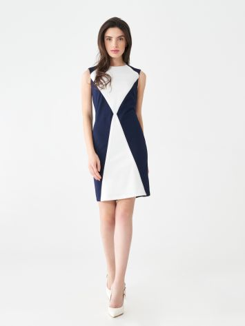 Rhombus sheath dress Rhombus sheath dress Rinascimento