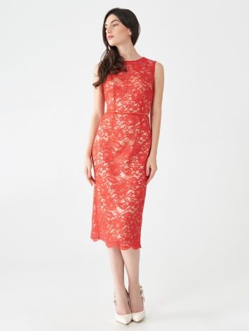 Lace sheath dress Lace sheath dress Rinascimento