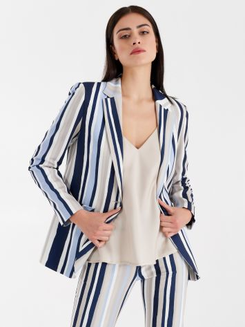 Striped jacket Striped jacket Rinascimento