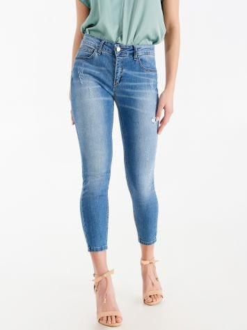Skinny cropped jeans Skinny cropped jeans Rinascimento