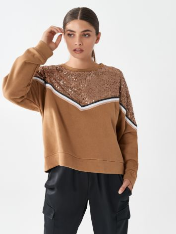 Sequinned jumper Sequinned jumper Rinascimento