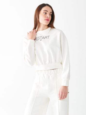 Restart cropped sweatshirt Restart cropped sweatshirt Rinascimento