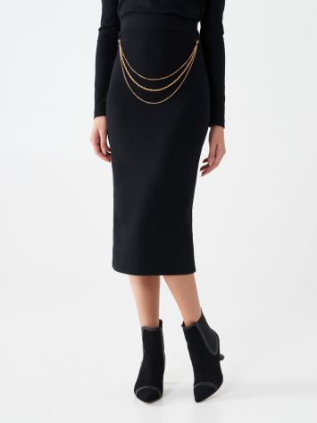 Chain pencil skirt Chain pencil skirt Rinascimento