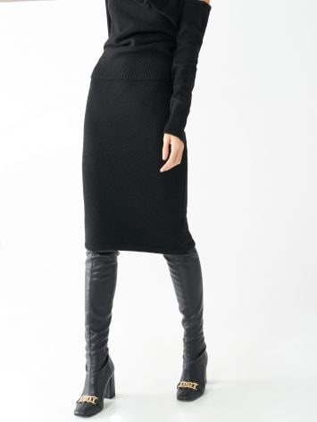 Knit longuette skirt Knit longuette skirt Rinascimento