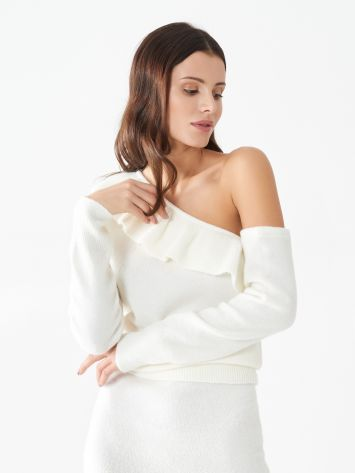 One-shoulder top One-shoulder top Rinascimento