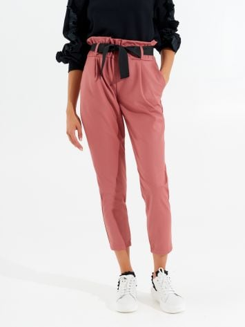 Viscose trousers with elastic Viscose trousers with elastic Rinascimento