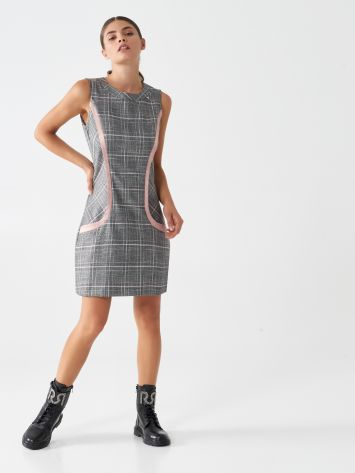 Sheath glen plaid dress Sheath glen plaid dress Rinascimento