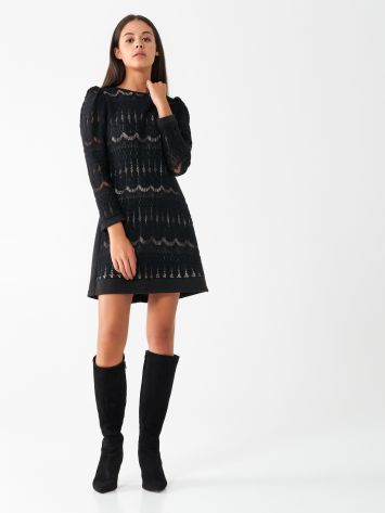 Crochet A-line dress Crochet A-line dress Rinascimento