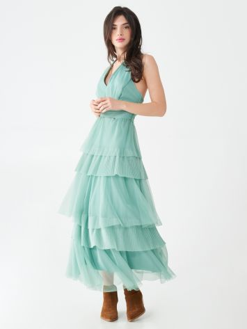 Full-length frilled dress Full-length frilled dress Rinascimento