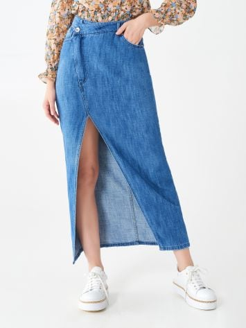Long denim skirt Long denim skirt Rinascimento