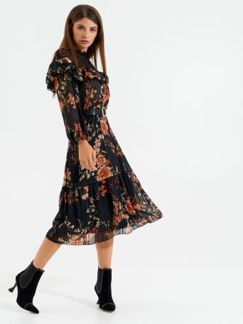 Romantic folk-style dress