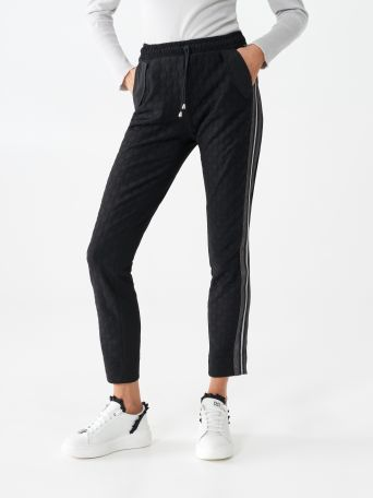 Sporty chic pants