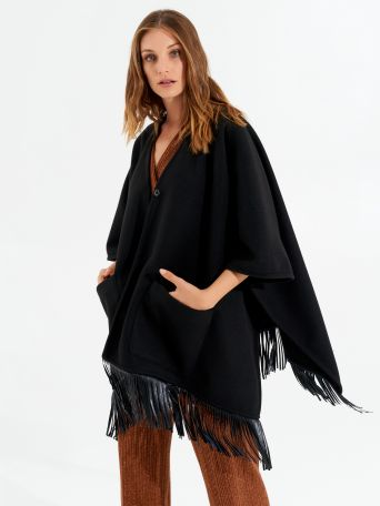 Cape with Fringes