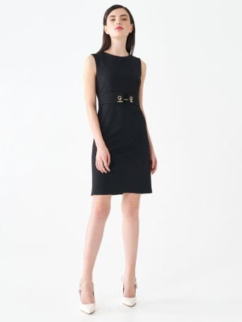 Chain sheath dress