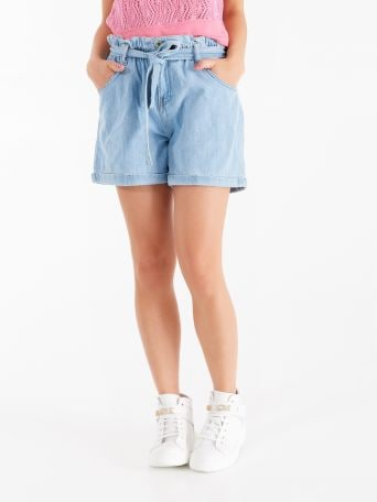 """Caramella"" denim shorts"
