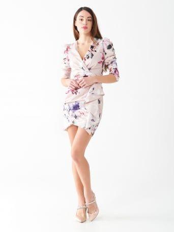 Roses short dress